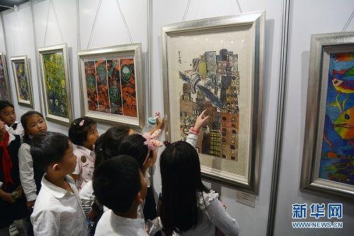 """""""我心中的质量""""少儿绘画比赛获奖展开幕 扫码可看H5展览"""