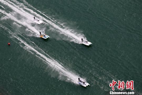 图为中国·彭水水上运动大赛比赛场景。 彭水宣传部供图