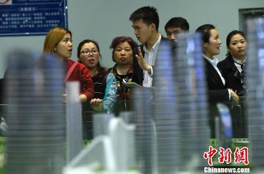 为期四天的2017年重庆春交会启幕,积极支持非住宅去库存。 陈超 摄