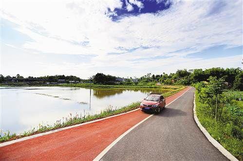 大足建成观光旅游公路