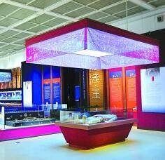 《法老·王—古埃及文明和中国汉代文明的故事》展览现场。