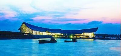 正在建设中的国家南海博物馆