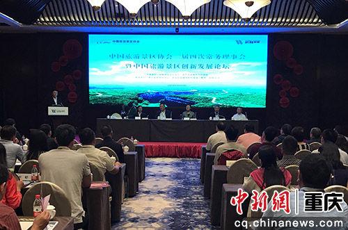 图为中国旅游景区创新发展论坛现场。肖江川 摄