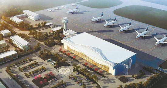 武隆机场效果图(受访者供图)