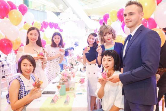 冰淇淋文化艺术节活动现场 龙湖重庆时代天街供图