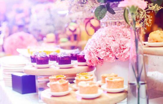 冰淇淋文化艺术节开幕式上的甜蜜糕点 龙湖重庆时代天街供图