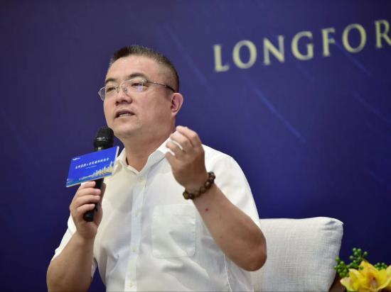 图为龙湖集团CEO邵明晓 龙湖供图
