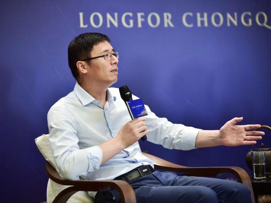 图为龙湖集团副总裁、重庆龙湖总经理崔恒忠