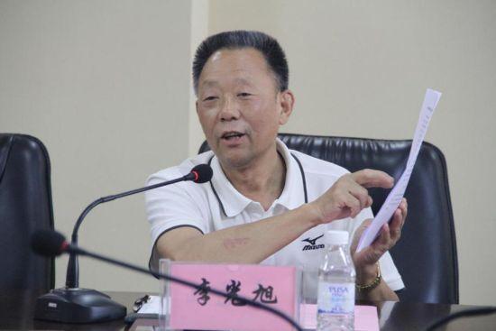 李光旭会长就联盟章程发表看法