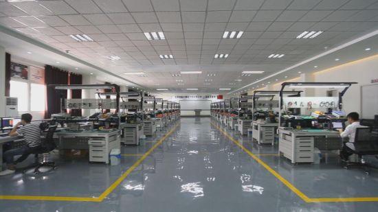 图为重庆市机械电子高级技工学校电子技术实训基地(中影渝凤文化传媒供图)