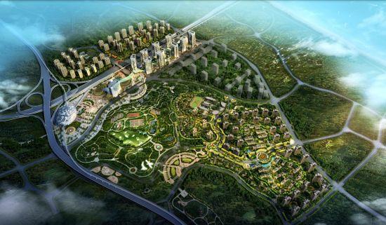 图为绿地城项目效果图 绿地供图