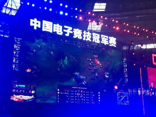 图为 2018CWG全国总决赛现场 贾楠摄