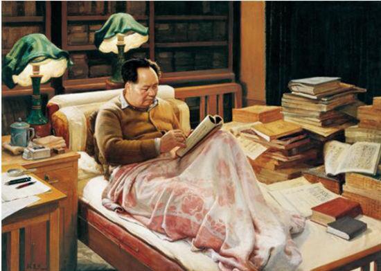 魏楚予成名作油画《求索》 主办方供图