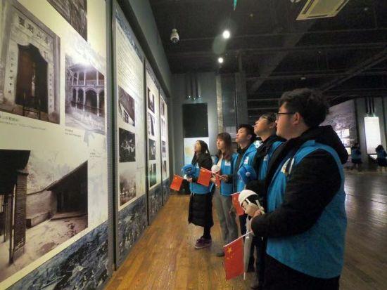 """图为""""纪念改革开放四十周年 红岩暖心冬至行""""徒步活动。郑岚芯 摄"""