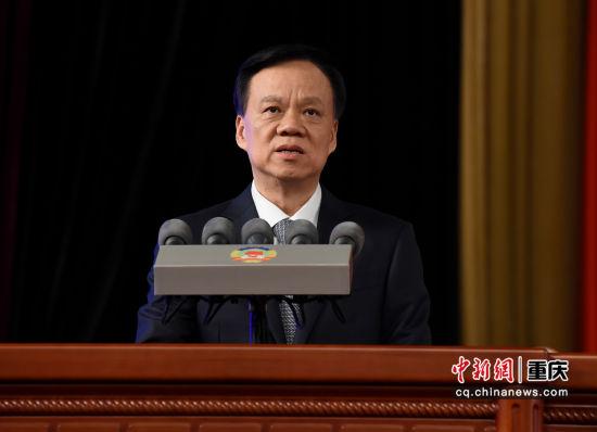 (组图)重庆市政协五届二次会议开幕