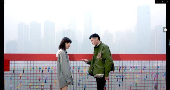 图为重庆一天台的爱情连廊即将亮相开放。 主办方供图