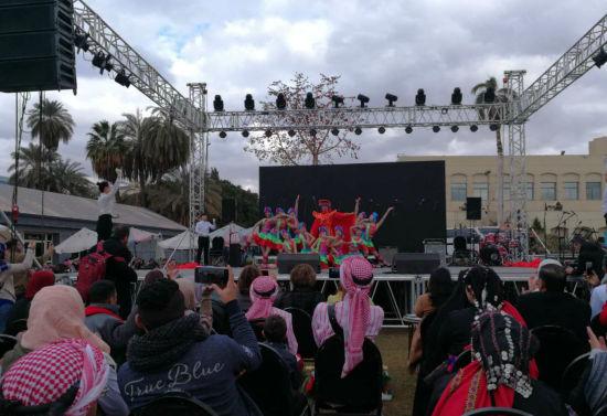 图为重庆市残疾人艺术团在埃及表演¡£邓广琼摄.jpg