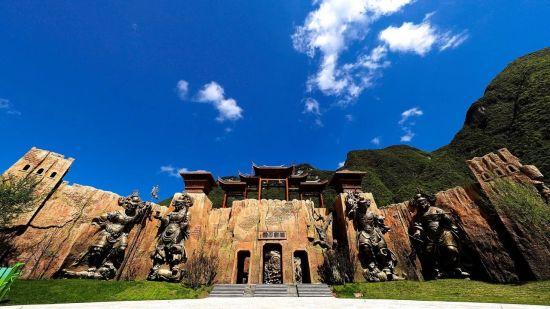 大沙河仡佬文化国际度假区风景。主办方供图