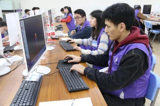 图为比赛现场。重庆交通职业学院供图