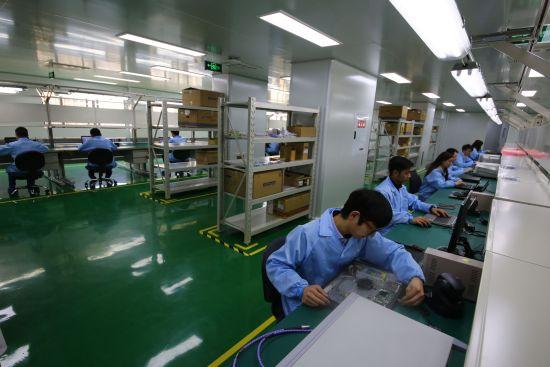 图为合川信息安全产业车间。资料图