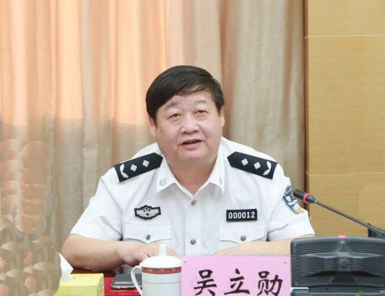 重庆市公安局党委委员、刑侦总队总队长吴立勋。受访者供图