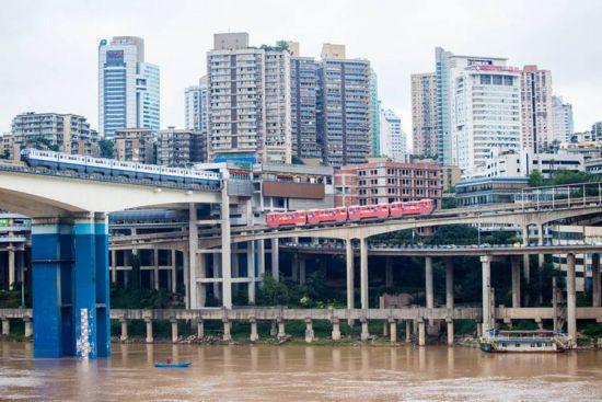 重庆公共交通图