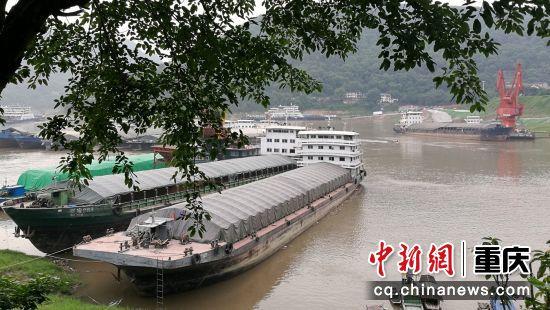 5月22日拍摄的郭家沱码头。