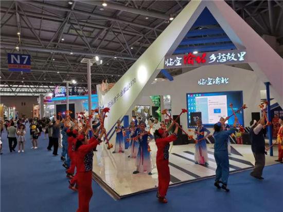 渝北馆精彩现代舞表演。渝北文旅委供图