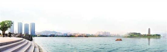 国家4A级景区汉丰湖
