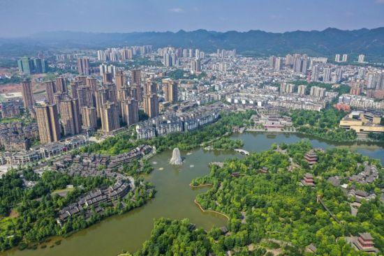 重庆璧山秀湖国家湿地公园风景美如画。刘潺 摄