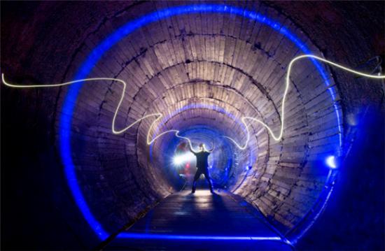 816地下核工程——9号引水洞。涪陵交旅集团供图