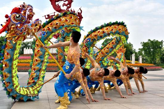 铜梁龙舞曾多次晋京参演。通讯员 郭洪 摄