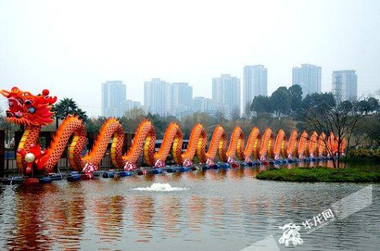铜梁首届龙灯艺术节吸引游客400万人次,实现旅游综合收入超10亿元。华龙网-新重庆客户端记者 李黎 摄