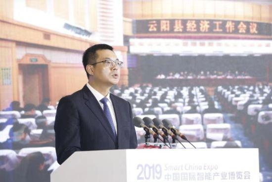 图为云阳县人民政府县长覃昌德。云阳县委宣传部供图。
