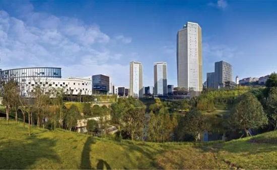 重庆两江数字经济产业园·互联网园 谢平摄
