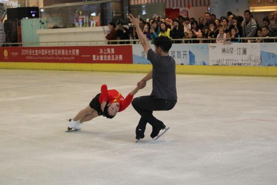 图为冰童选拔现场。重庆市体育局供图