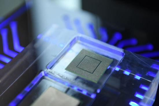图为中星微人工智能芯片