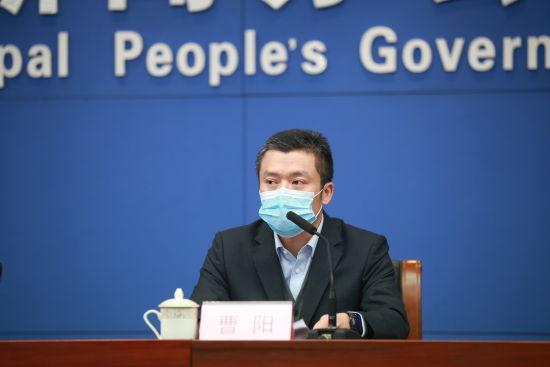 图为平安产险重庆分公司党委书记、总经理曹阳参加新闻发布会。平安产险供图
