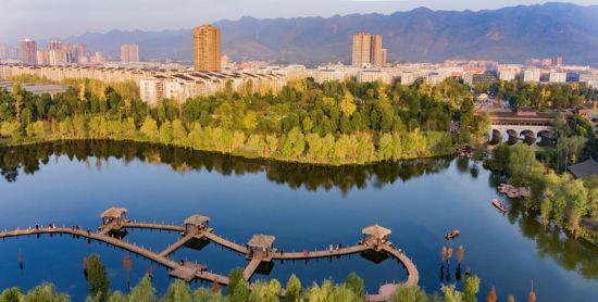 """璧山,一座""""公园之城""""。"""