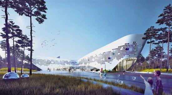 武隆科技馆(效果图)图片由重庆市科协提供
