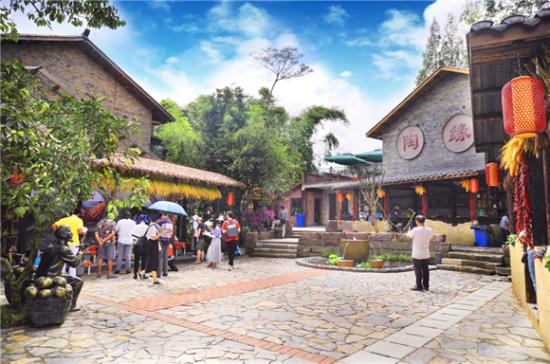 万石耕春·碗米民宿。梁平区文化和旅游发展委员会供图 华龙网发
