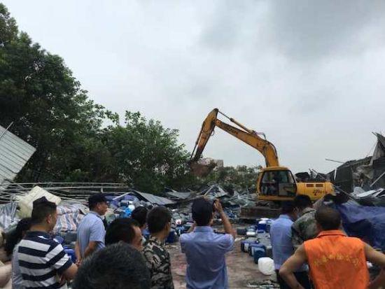 重庆今年内将全面完成城市建成区违法建设治理 市城市管理局供图