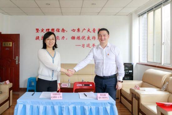 川渝两地签署《成渝地区双城经济圈建设 青春建功行动志愿服务专项备忘录》。团市委供图 华龙网发