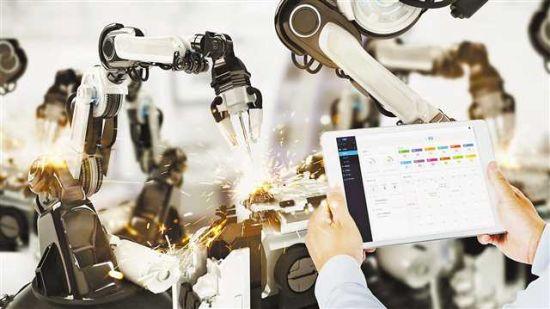 树根互联参与企业生产设备后市场服务。(受访者供图)