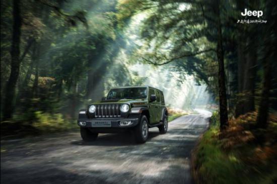 图为Jeep牧马人Rubicon丛林英雄限量版效果图。 主办方供图