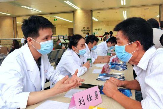 活动现场。新桥医院供图