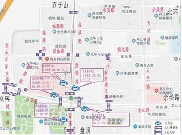 南桥寺立交通车后增设5处公交站点