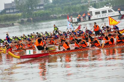 《【恒耀代理平台注册】潼南区教委队获2020年潼南涪江龙舟赛第一名》