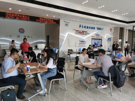 集中推介中科院科技成果180余项。重庆市科技局供图