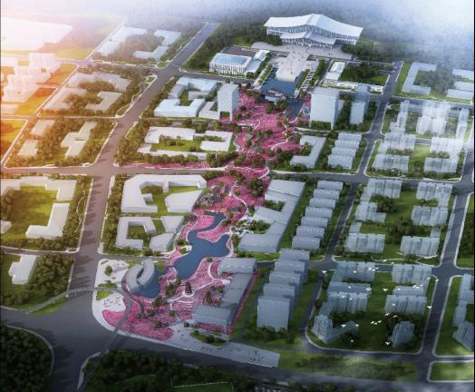 涪陵高铁片区效果图(图片来源于网络)